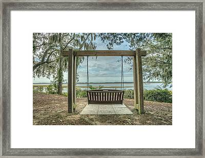 Framed Print featuring the photograph Beaufort Fall 2017 13 by Jim Dollar