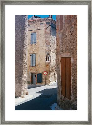 Beaumes De Venise Framed Print by Gary Peterson