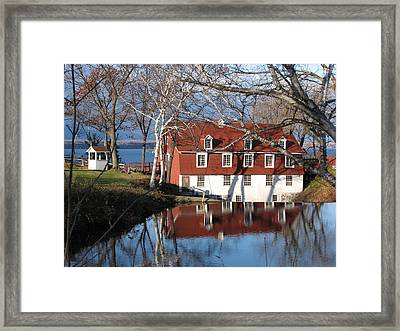 Beaumont Quebec Canada Framed Print