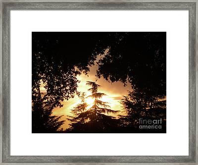 Beaumont Sunset Framed Print