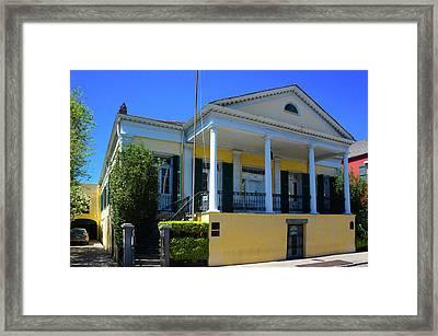 Beauregard Keyes House Framed Print by Art Spectrum