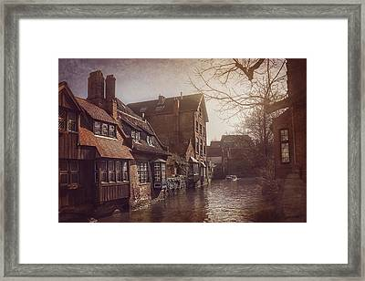 Beauteous Bruges Framed Print by Carol Japp