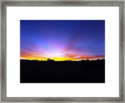 Beautifil Blue Framed Print by Adam Cornelison