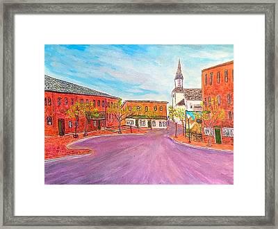 Beautiful Amesbury Framed Print