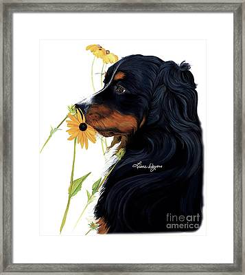 Beautiful And Meaningful. Framed Print