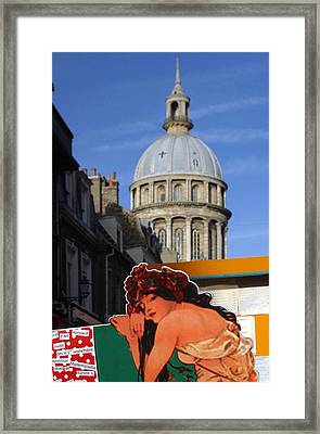 Beautiful Architecture Framed Print by Jez C Self