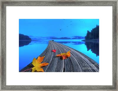 Beautiful Autumn Morning Framed Print