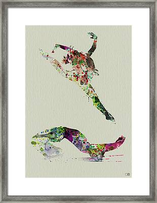 Beautiful Ballet Framed Print