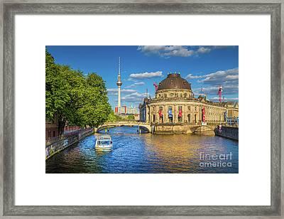 Beautiful Berlin Framed Print by JR Photography