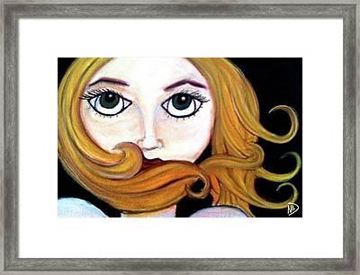 Beautiful Blonde Framed Print