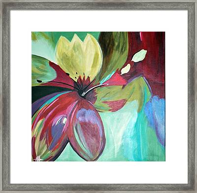 Beautiful Bloom Framed Print by Heather  Hamrick