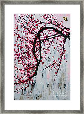 Beautiful Blossoms Framed Print by Natalie Briney