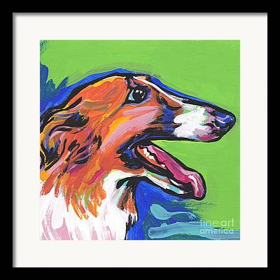 Sight Hound Framed Prints