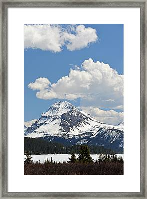 Beautiful Bow Lake Framed Print