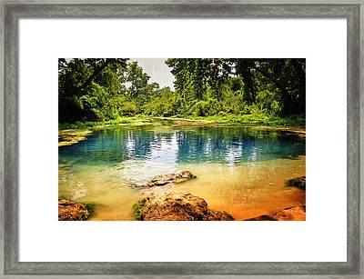 Beautiful Boze Mill Spring Framed Print by Marty Koch