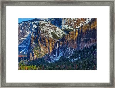 Beautiful Bridalveil Falls Framed Print by Garry Gay