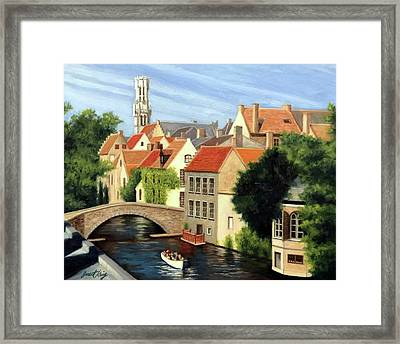 Beautiful Bruges Framed Print