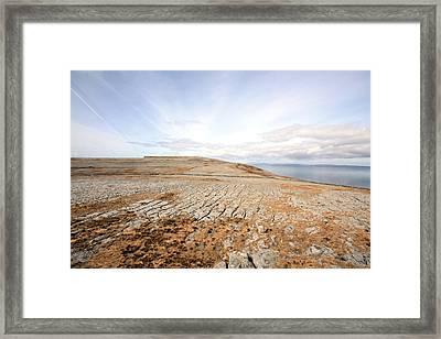 Beautiful Burren Framed Print by John Quinn