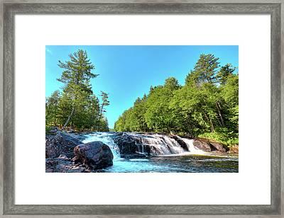 Beautiful Buttermilk Falls Framed Print