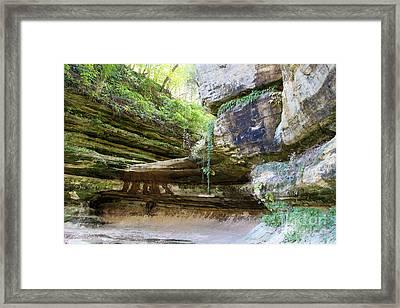 Beautiful Canyon Framed Print by Milena Ilieva