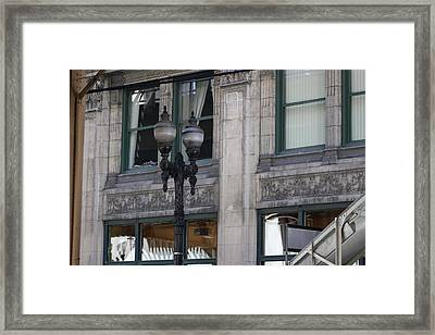 Beautiful Chicago Gothic Grunge Framed Print