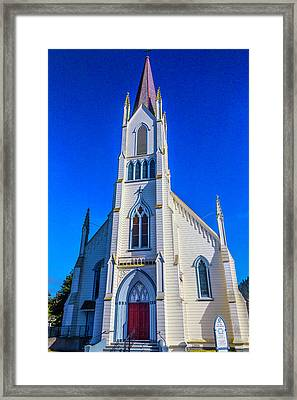 Beautiful Church Of The Assumption Framed Print