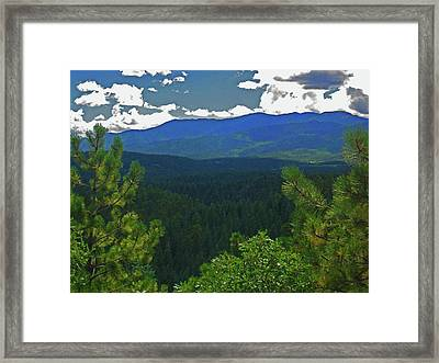 Framed Print featuring the photograph Beautiful Colorado by Tammy Sutherland