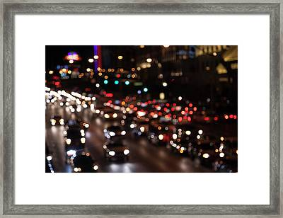 Framed Print featuring the photograph Beautiful Congestion by Eric Christopher Jackson