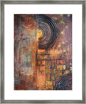 Beautiful Corrosion Framed Print