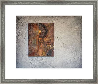 Beautiful Corrosion Too Framed Print