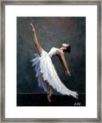 Beautiful Dancer Framed Print by Janet King