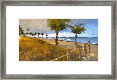 Beautiful Day Framed Print by Anthony Fishburne