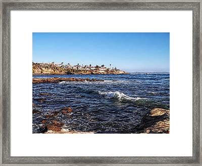 Beautiful Day In La Jolla Framed Print