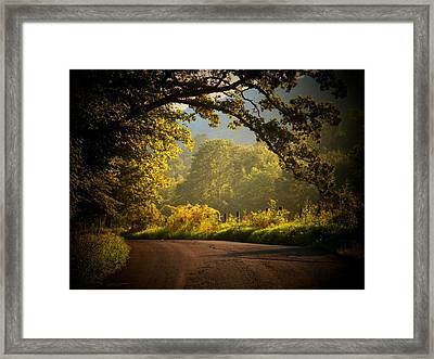 Beautiful Day Framed Print by Joyce Kimble Smith