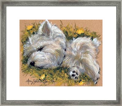 Beautiful Dreamer Framed Print by Mary Sparrow