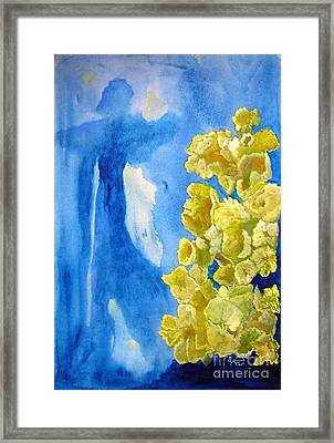 Framed Print featuring the painting Beautiful Dreamer by Sandy McIntire