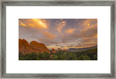 Beautiful Earth And Sky Framed Print