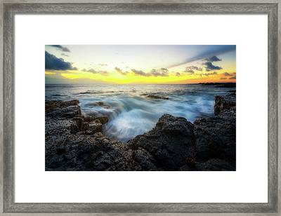 Framed Print featuring the photograph Beautiful Ending by Ryan Manuel