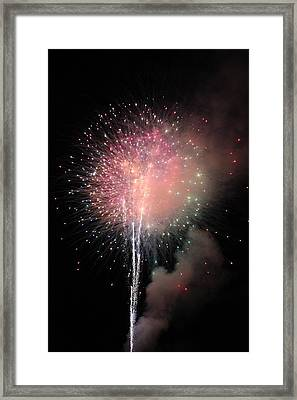 Beautiful Explosion Framed Print