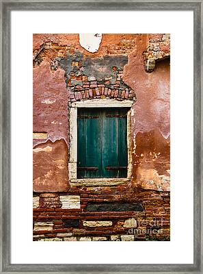 Beautiful Facade Framed Print by Amy Sorvillo