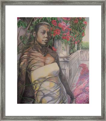 Beautiful Flower Framed Print by Joyce McEwen Crawford