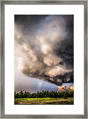 Beautiful Formations Framed Print