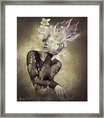 Beautiful Freak Framed Print by Ali Oppy