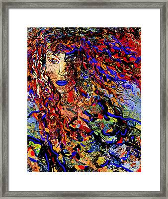 Beautiful Free Spirit Framed Print