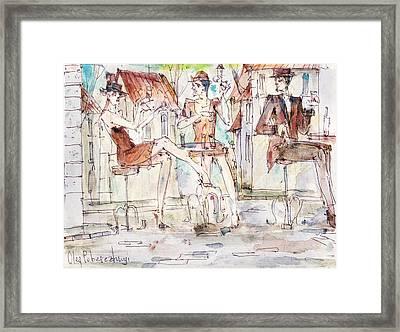 Beautiful Girls Framed Print by Oleg Poberezhnyi