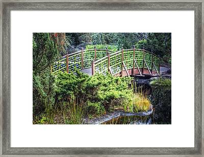 Beautiful Green Framed Print