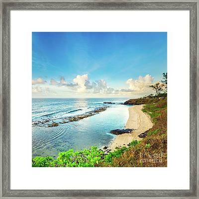 Beautiful Gris-gris At Sunrise. Panorama Framed Print
