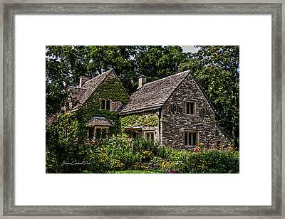 Beautiful Home Framed Print by Joann Copeland-Paul