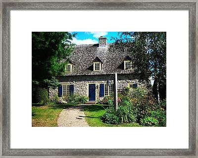 Beautiful Home ... Framed Print by Juergen Weiss
