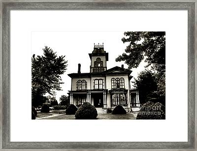 Beautiful House Framed Print by Kathleen Struckle